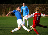 Minster MOs v York City Ladies 18 Nov 2012