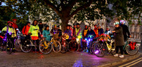 York Bike Belles Illuminated night ride & views 4th Oct 2017